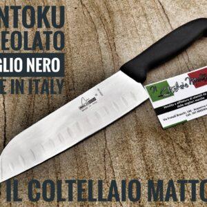 Coltello Santoku – Maglio Nero – tipo Victorinox