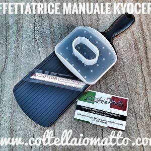 Kyocera – Affettatrice manuale con 4 regolazioni di taglio