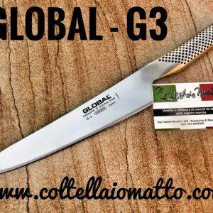 GLOBAL G3 – TRINCIANTE
