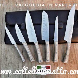 Set da chef Valgobbia Linea Paperstone Made in Italy