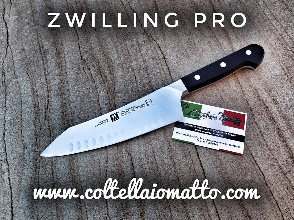 zwilling santoku made in germany coltellaiomatto. Black Bedroom Furniture Sets. Home Design Ideas