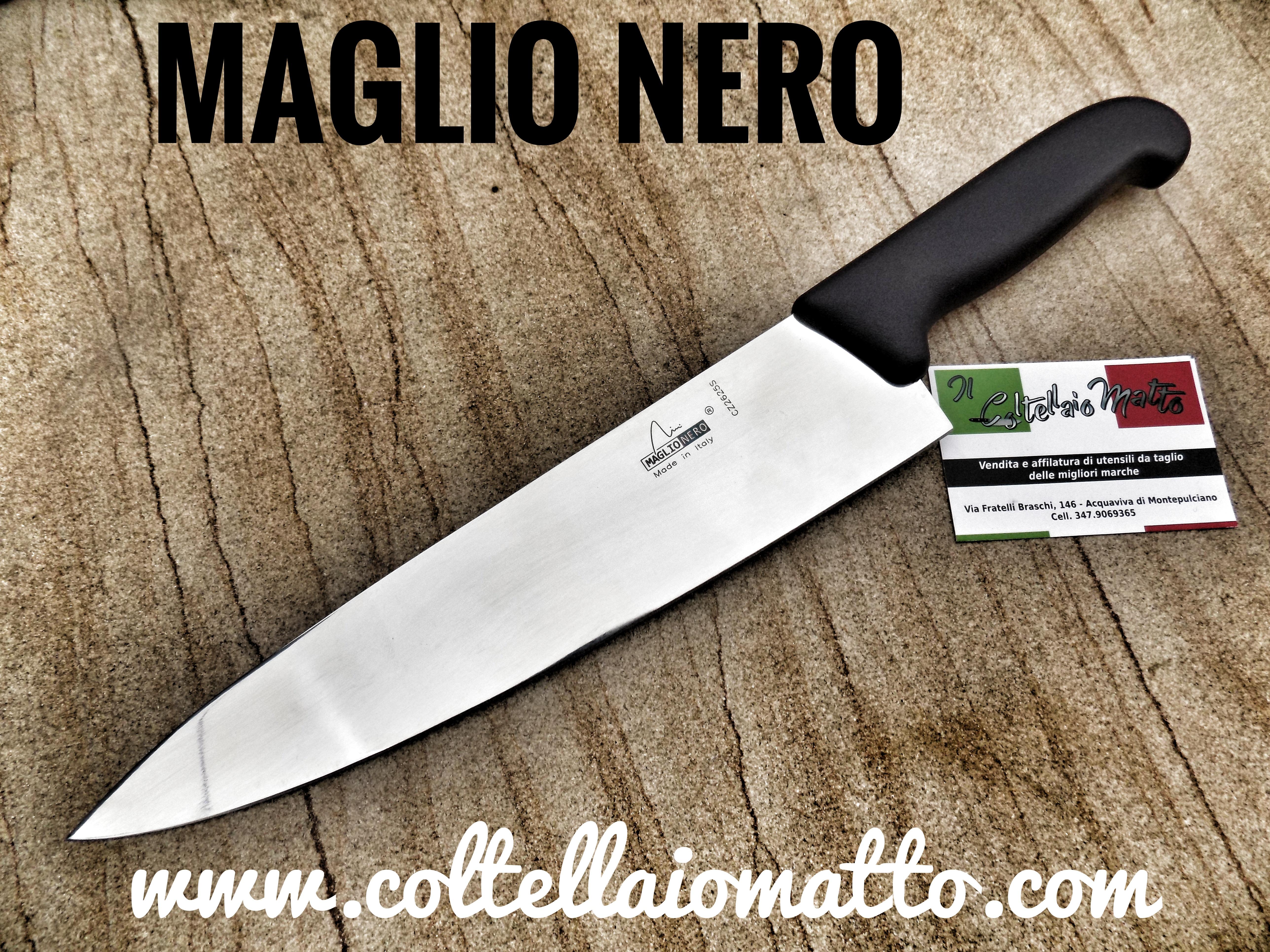 victoorinox,NERO, MAGLIO, trinciante, COLTELLO