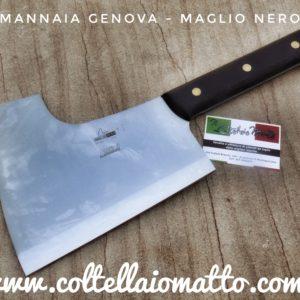 MANNAIA GENOVA  – MAGLIO NERO – MADE IN ITALY
