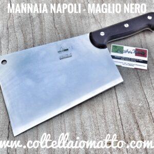 MANNAIA NAPOLI  – MAGLIO NERO – MADE IN ITALY