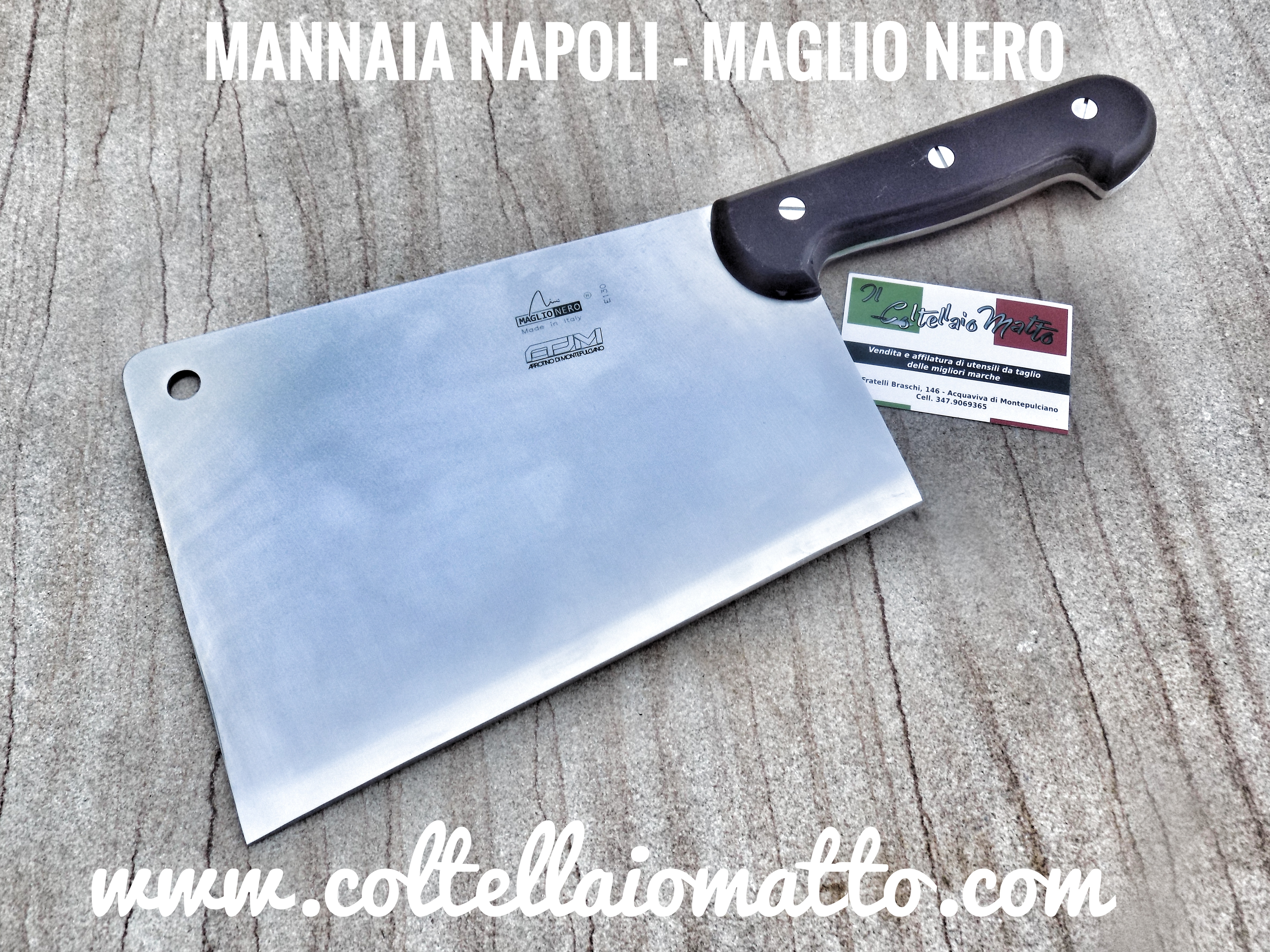 Mannaia-napoli-pesante-
