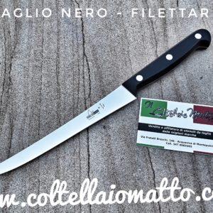 MAGLIO NERO – COLTELLO FILETTARE – MADE IN ITALY