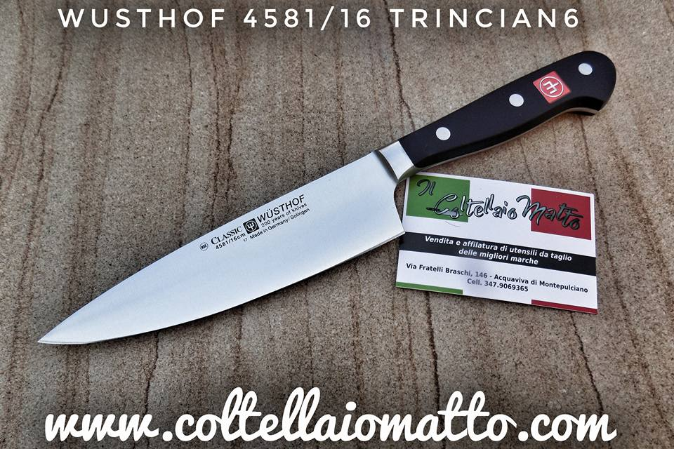 COLTELLO DA CHEF TRINCIANTE