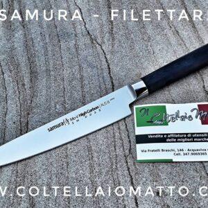 SAMURA MADE IN JAPAN – FILETTARE KNIFE DA 16 CM FORGIATO
