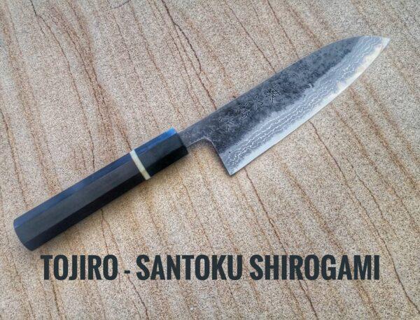 COLTELLO-SANTOKU-TOJIRO-ARTIGIANALE-SHIROGAMI-KAMAGATA-COLTELLAIOMATTO