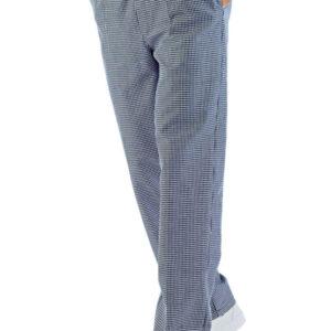 Pantalone da Lavoro Isacco per uomo, con colore abbinabile a Giacche da Lavoro, Cappelli ed altri accessori. Consigliabile per cuochi, pasticceri, gelatieri, pizzaioli, fornai.