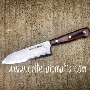 SANTOKU-SAMURA HAMMARED - COLTELLAIOMATTO
