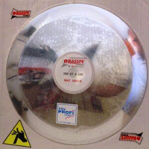 fissaggio lama - diametro